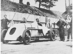 BABS John Cobb on Starting Line at Brooklands